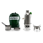 Kelly Kettle Trekker SMALL STAINLESS STEEL - Complete Kit