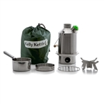 Kelly Kettle MEDIUM STAINLESS STEEL - Complete Kit