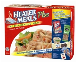 "HeaterMeals ""Plus"" Meal Kit - Home-style Chicken & Noodles in Gravy Entree"