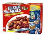 "HeaterMeals ""Plus"" Meal Kit - Zesty BBQ Sauce, Diced Potatoes w/Beef Entree"