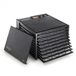Excalibur Food Dehydrator Large Deluxe 9 Tray Model 3926TB - Black w/Timer