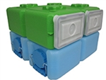 FoodBrick & WaterBrick Combo 3.5 Gallon - 4 Pack