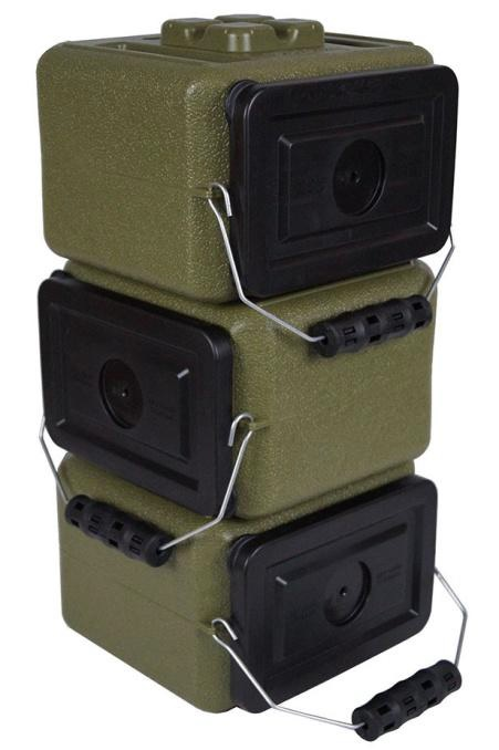 AmmoBrick Portable Storage Container Emergency Ammo Food and