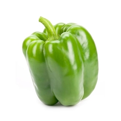 "Green Bell Pepper 1/4"" Diced FREEZE DRIED BULK"