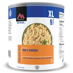 Mountain House Rice & Chicken #10 Can Case of 6