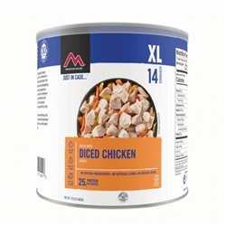 Mountain House Diced Cooked Chicken Freeze Dried #10 Can Case of 6