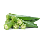 "Okra 1/2"" FREEZE DRIED BULK"
