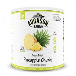 Pineapple Chunks Freeze-Dried #10 can
