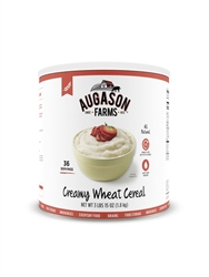 Creamy Wheat Cereal #10 can