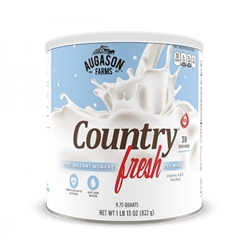 Country Fresh 100% Real Instant Nonfat Dry Milk #10 can