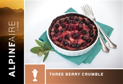 Three Berry Crumble - each