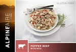 Pepper Beef with Rice- each