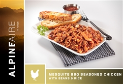 Mesquite BBQ Seasoned Chicken with Beans & Rice - each