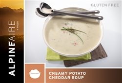 Creamy Potato Cheddar Soup - each