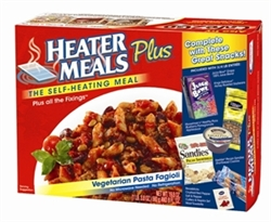 "HeaterMeals ""Plus"" Meal Kit - Vegetarian Pasta Fagioli Entree"