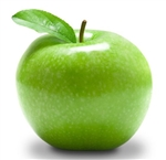 Apple Granny Smith Sliced with Peel FREEZE DRIED BULK