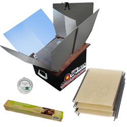 All American Sun Oven w/Dehydrating & Preparedness Accessory Package
