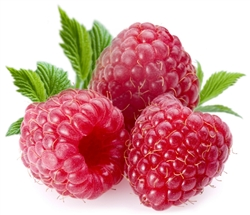"Raspberry 1/2"" Sliced FREEZE DRIED BULK"