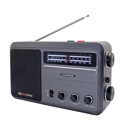 c crane ccradio ep pro am fm portable analog radio high rh preparedirect com