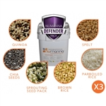 NuManna Defender Nutritive Pack - TRIPLE