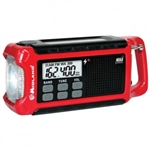 Midland ER210 Dynamo Crank Radio with AM/FM, Weather Alert & Solar