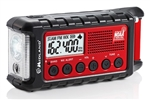 Midland ER310 Deluxe Emergency Crank Radio with AM/FM, Weather Alert & Solar