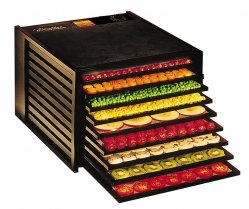 Excalibur Food Dehydrator Large Deluxe 9 Tray Model 3900B - Black