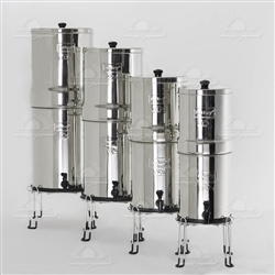 Berkey Stainless Steel Base for Imperial & Crown Berkey